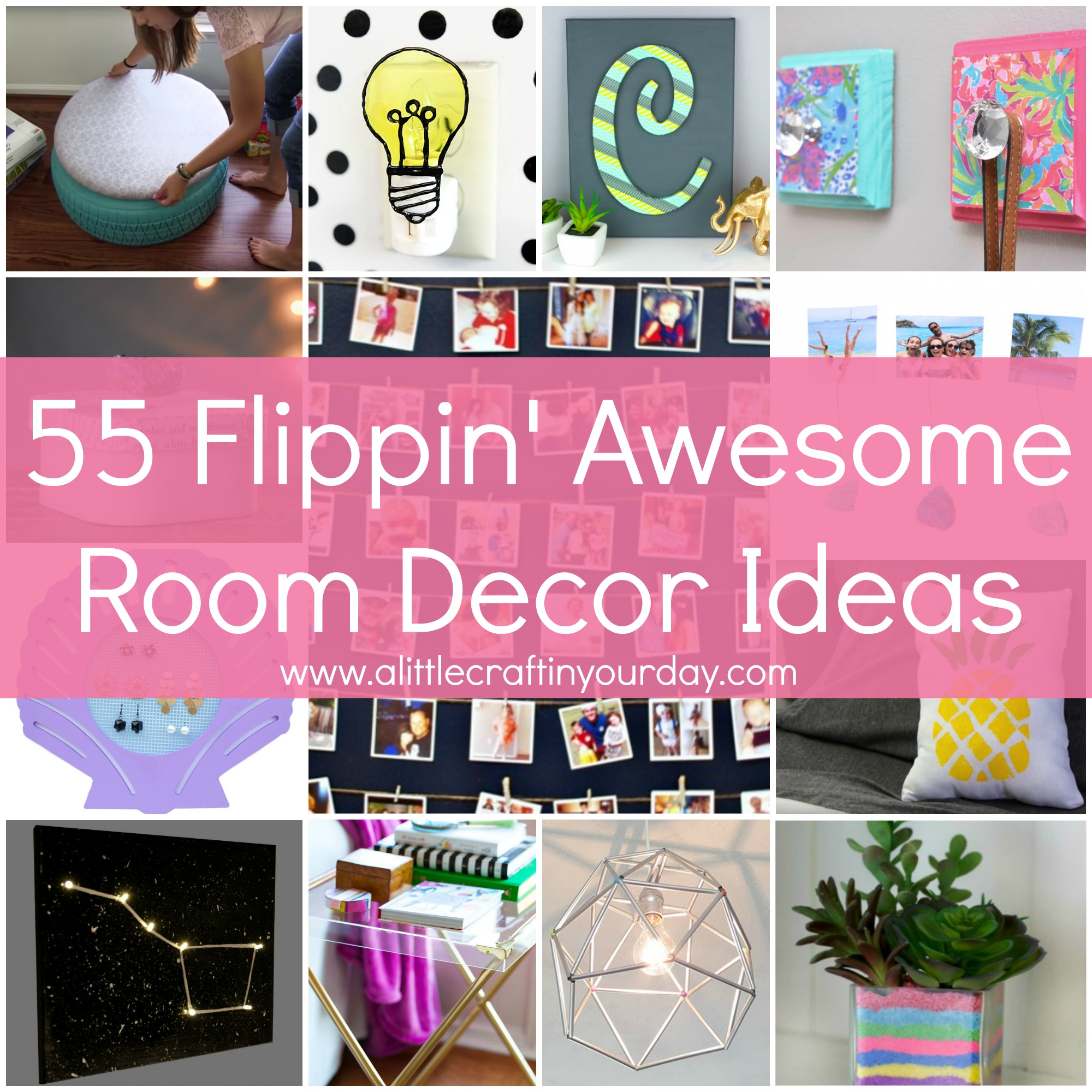 Best 55 Flippin Awesome Room Decor Ideas A Little Craft In This Month