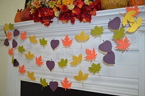 Best Amazon Com Leaf Garland Leaf Banner Fall Leaves This Month