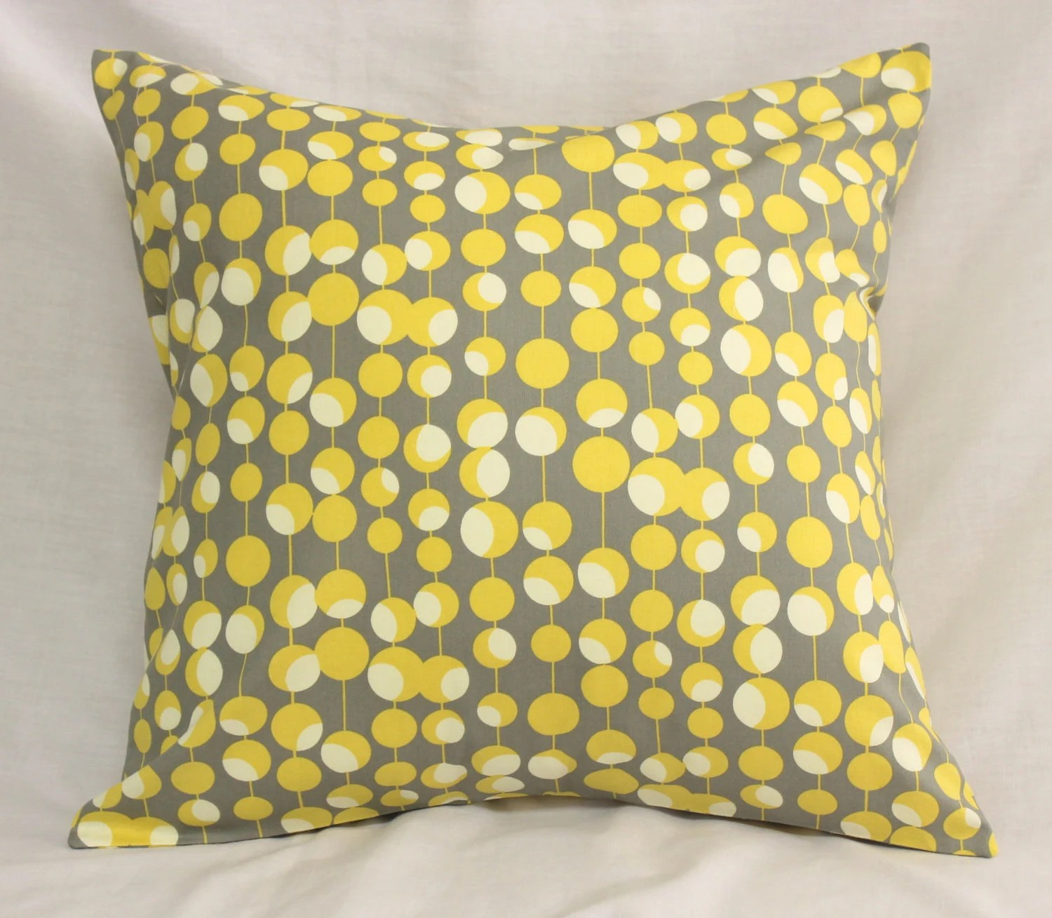 Best Decorative Pillow Covers Dijon Mustard Yellow Gray This Month