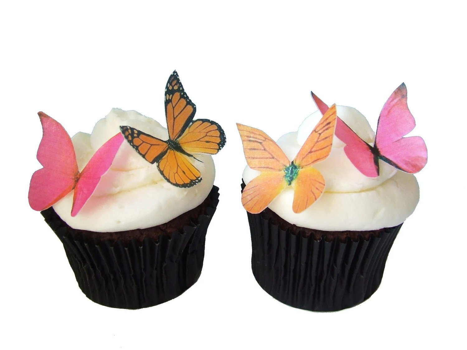 Best Edible Butterflies Cake Decorations 24 Edible Butterflies This Month