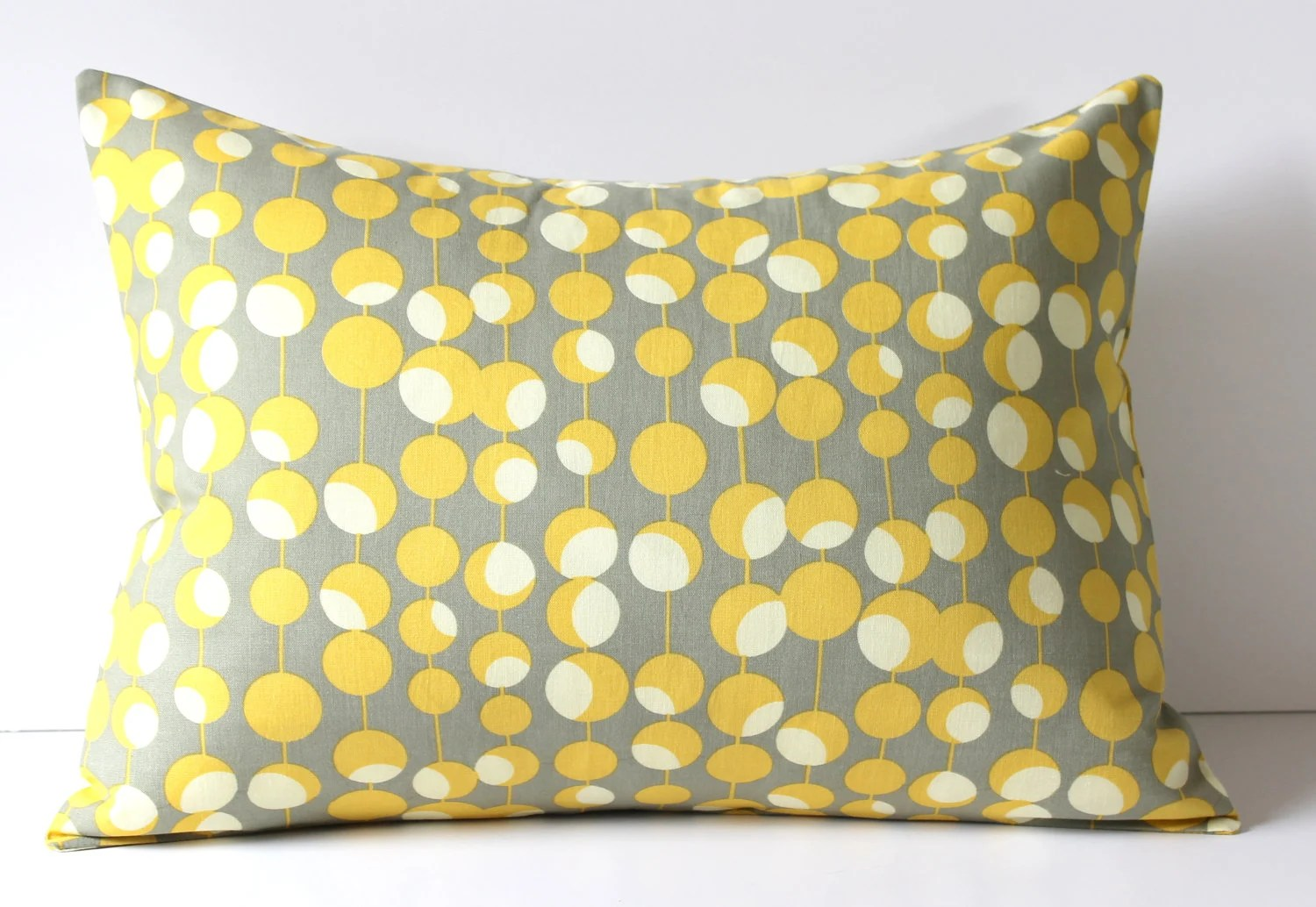 Best Decorative Pillow Cover Gray Mustard Yellow Martini Dots This Month