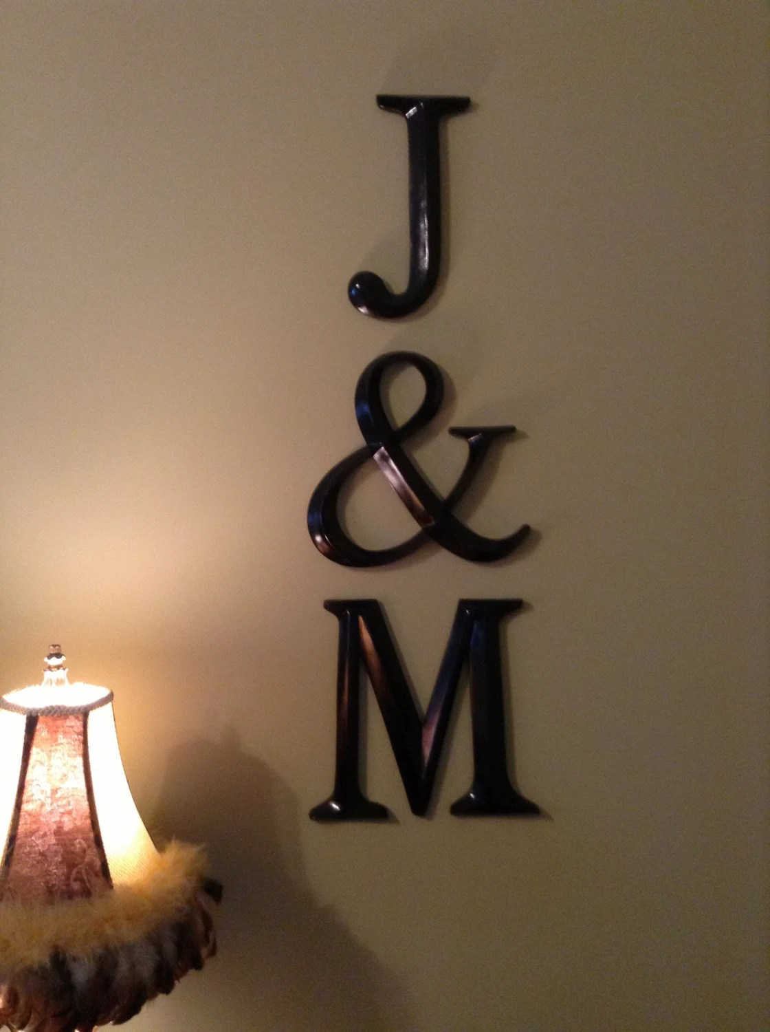 Best Wall Decor Large Letter Decor Wedding Decor Pick Your This Month