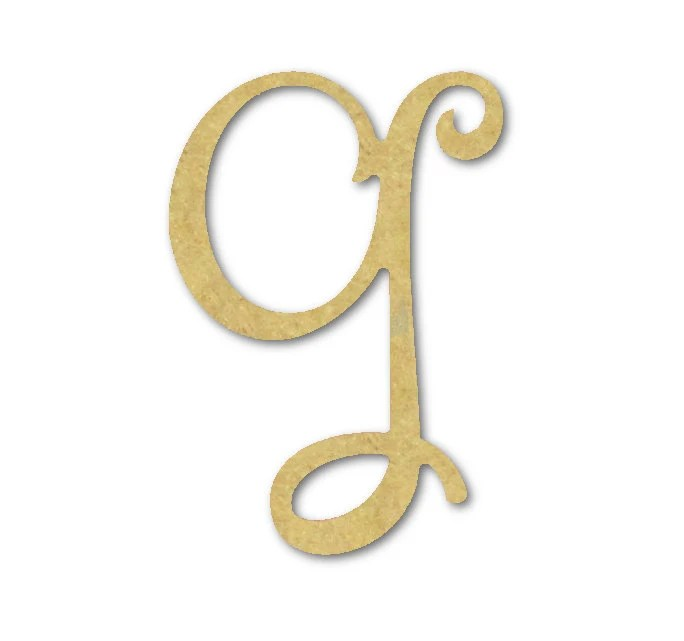 Best Large Wooden Letters G Unfinished Unpainted This Month