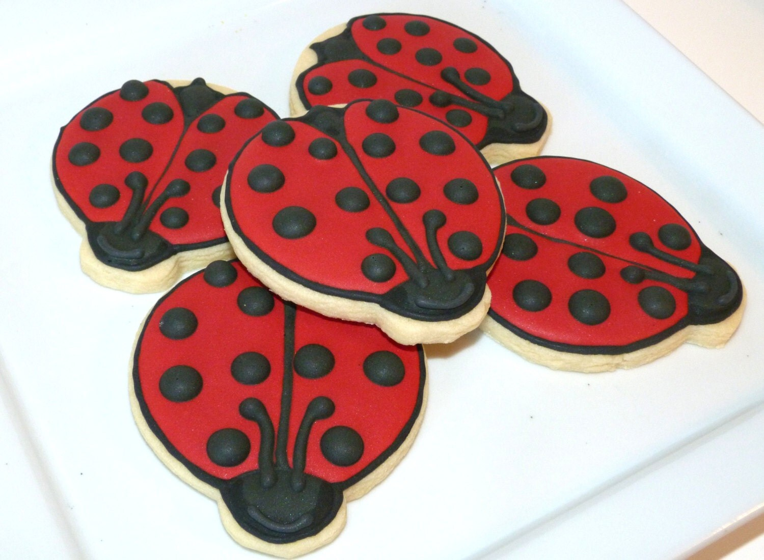 Best Custom Decorated Gourmet Sugar Cookie Ladybug By This Month