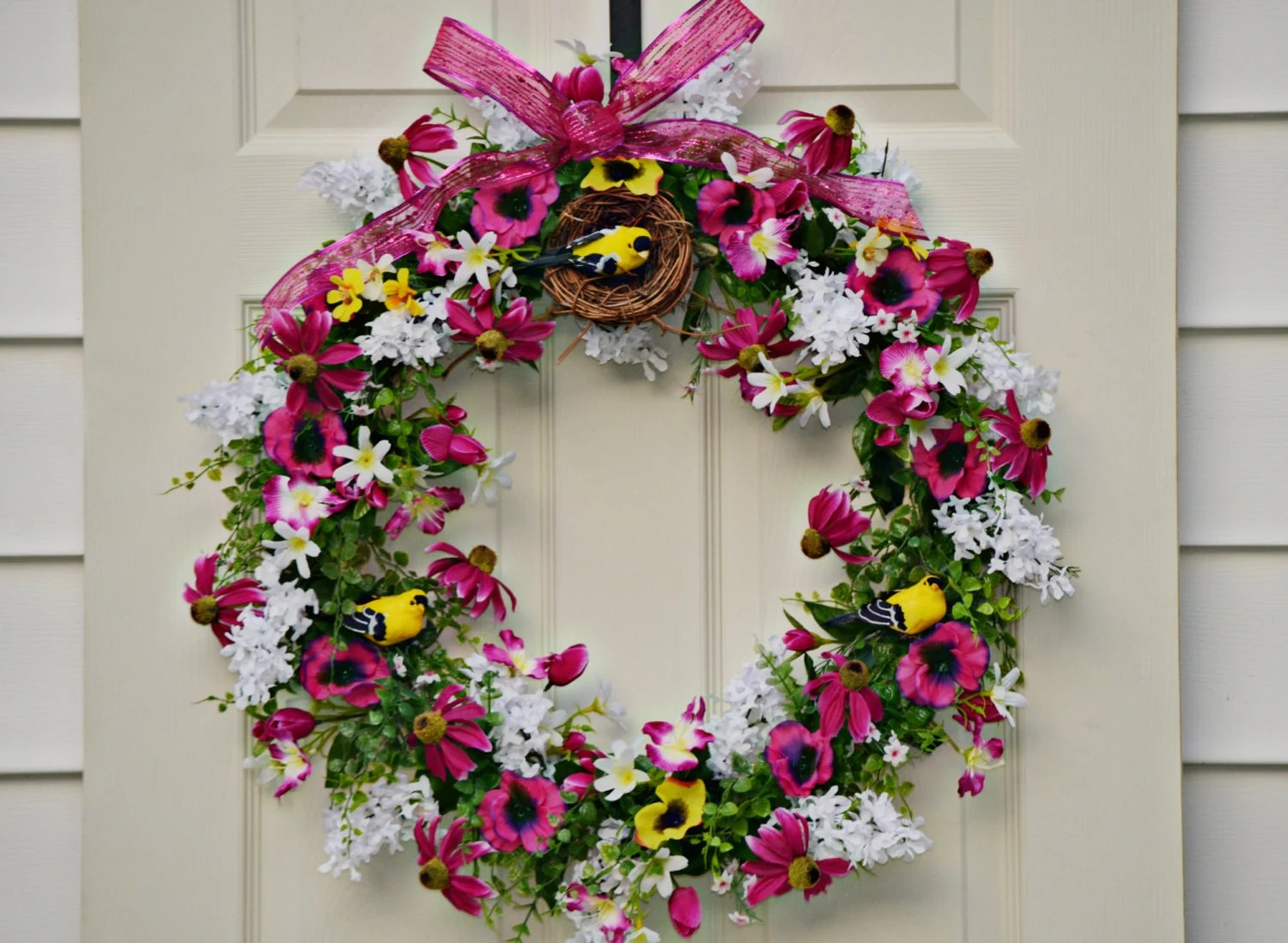 Best Spring Door Wreath Home Decor Gift Ideas Handmade This Month