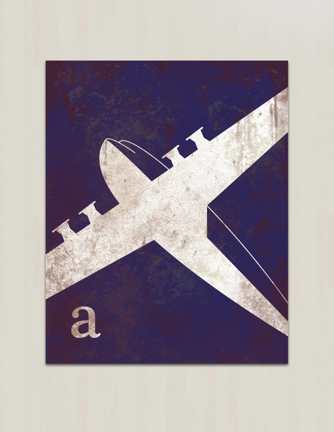 Best Airplane Wall Art For Nursery Vintage Airplane By This Month