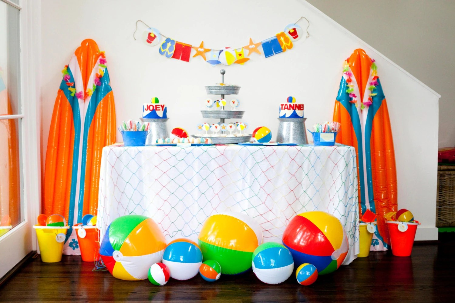 Best Beach Birthday Party Theme Beach Party Theme Beach Ball Party This Month