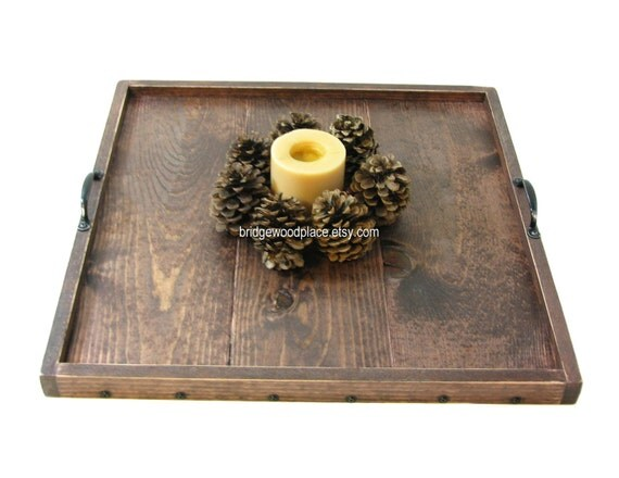 Best Personalized Ottoman Tray Engraved Wooden By Bridgewoodplace This Month