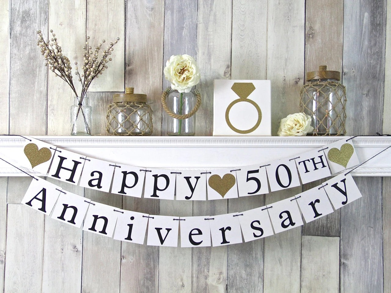 Best 50Th Anniversary Banner Happy Anniversary Banner Anniversary This Month