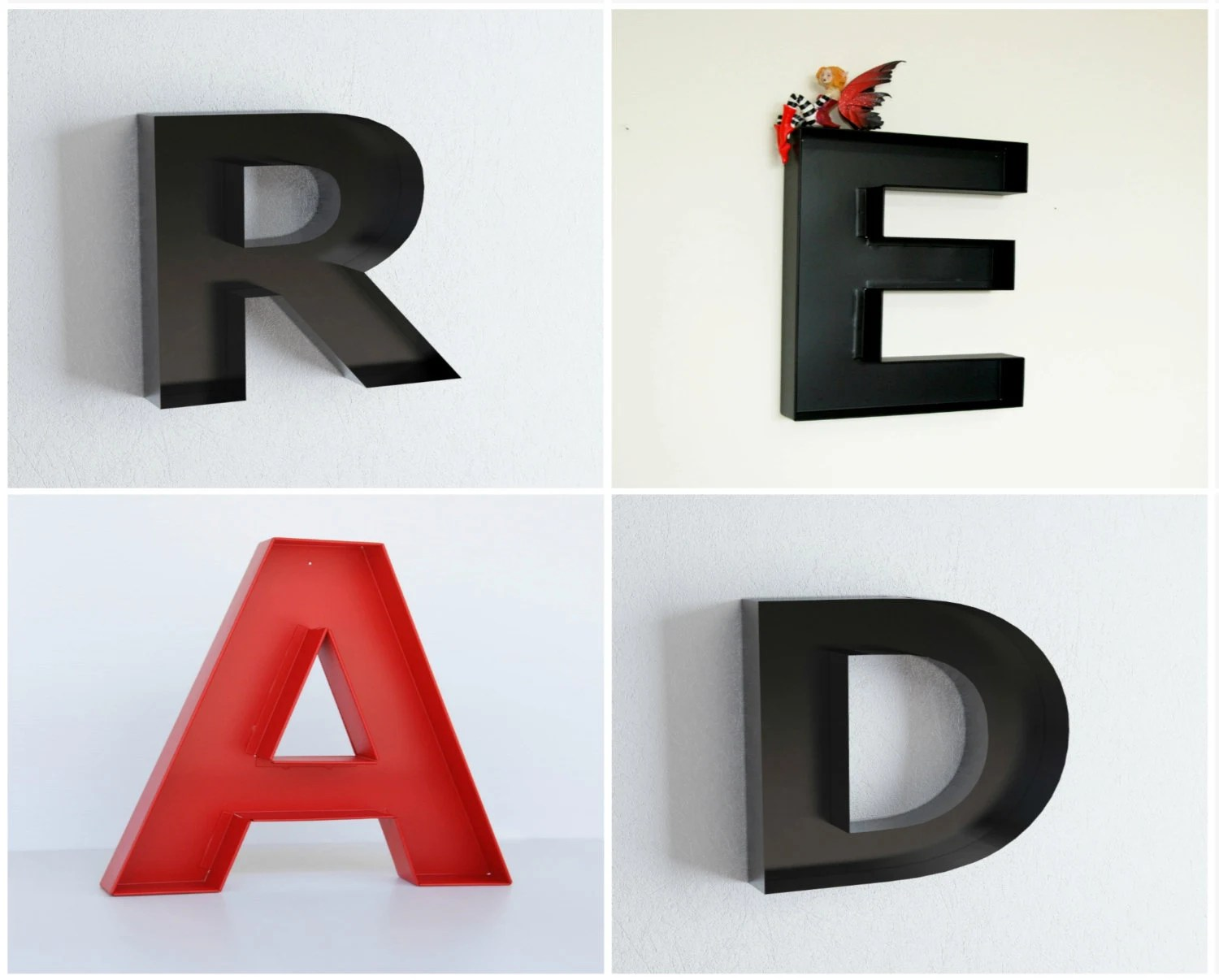 Best Read Letters Library Decor Read Wall Large Letters Read By This Month