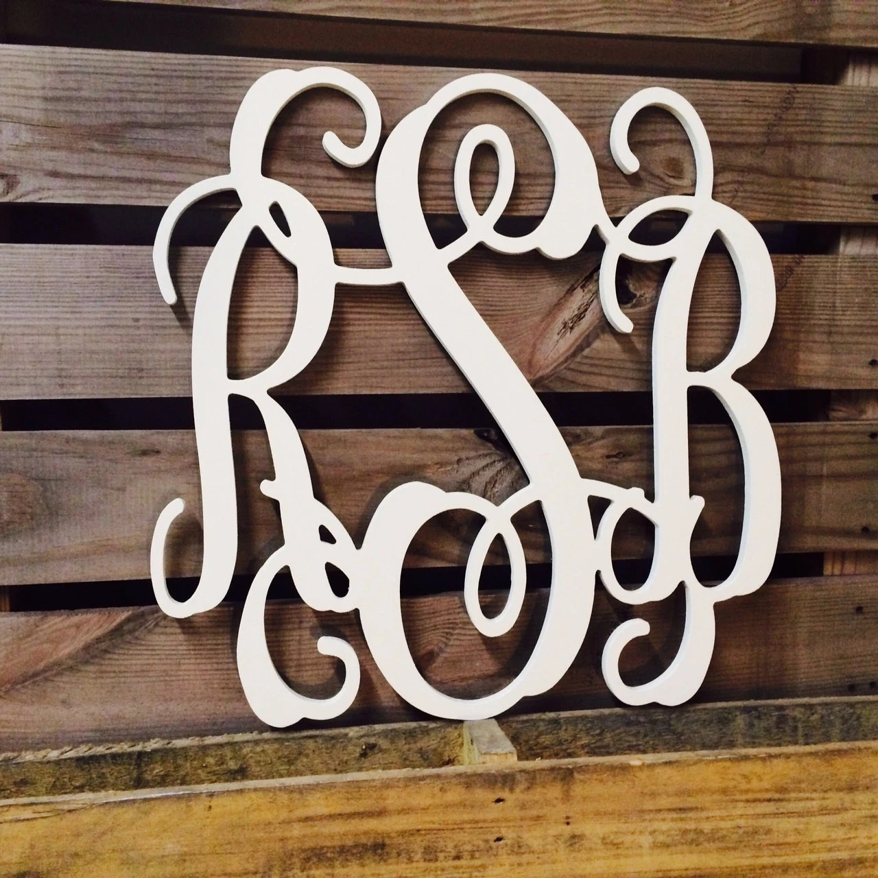 Best Monogram Large Wooden Wall Art Dorm Room Wedding Guest This Month