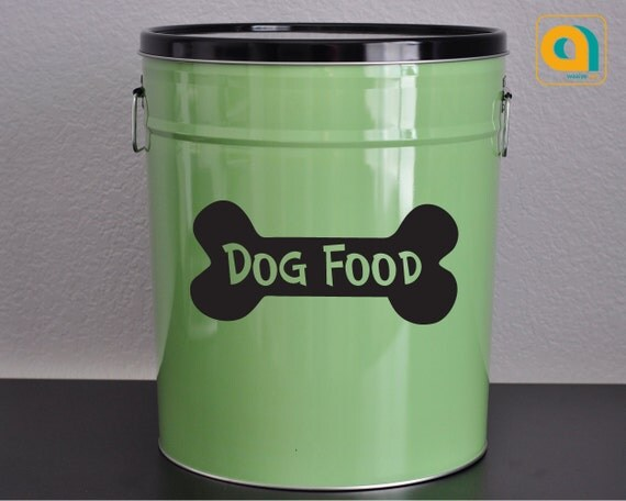 Best Dog Food Decal For Your Pet Food Container 28 Color Options This Month