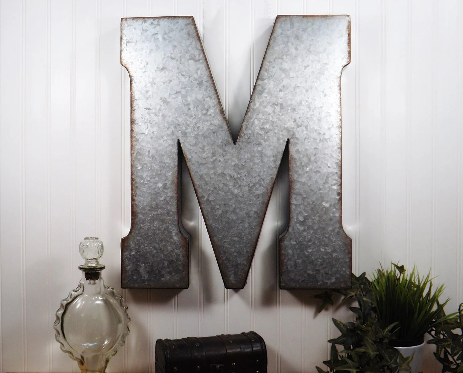 Best Large Metal Letter 20 Inch Metal Letter Wall Decor This Month