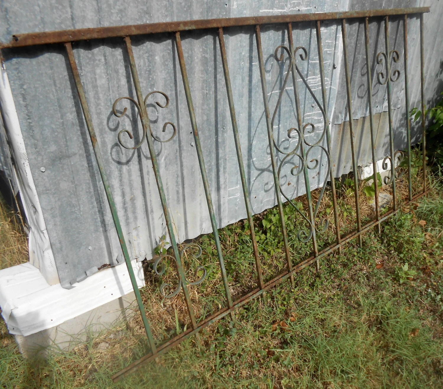 Best Vintage Wrought Iron Fence Panels Decorative By This Month