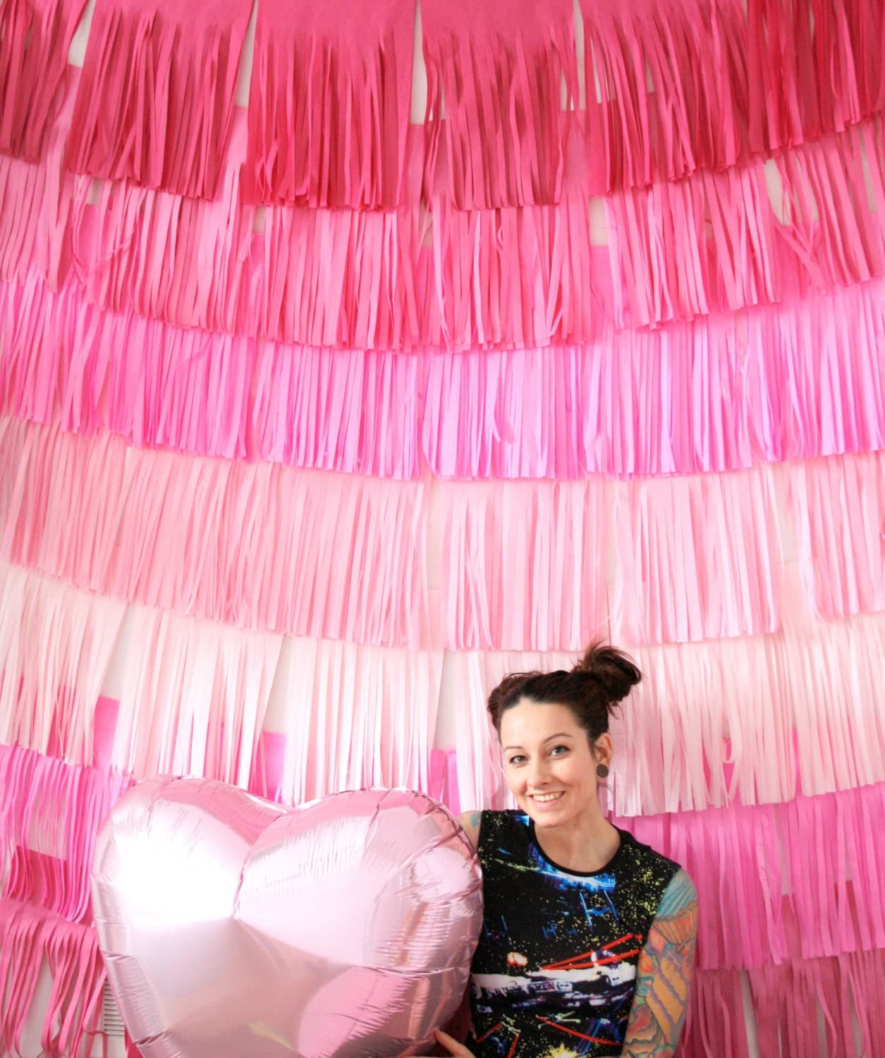 Best Valentines Day Decor Backdrop Fringe Curtain Photo Booth This Month
