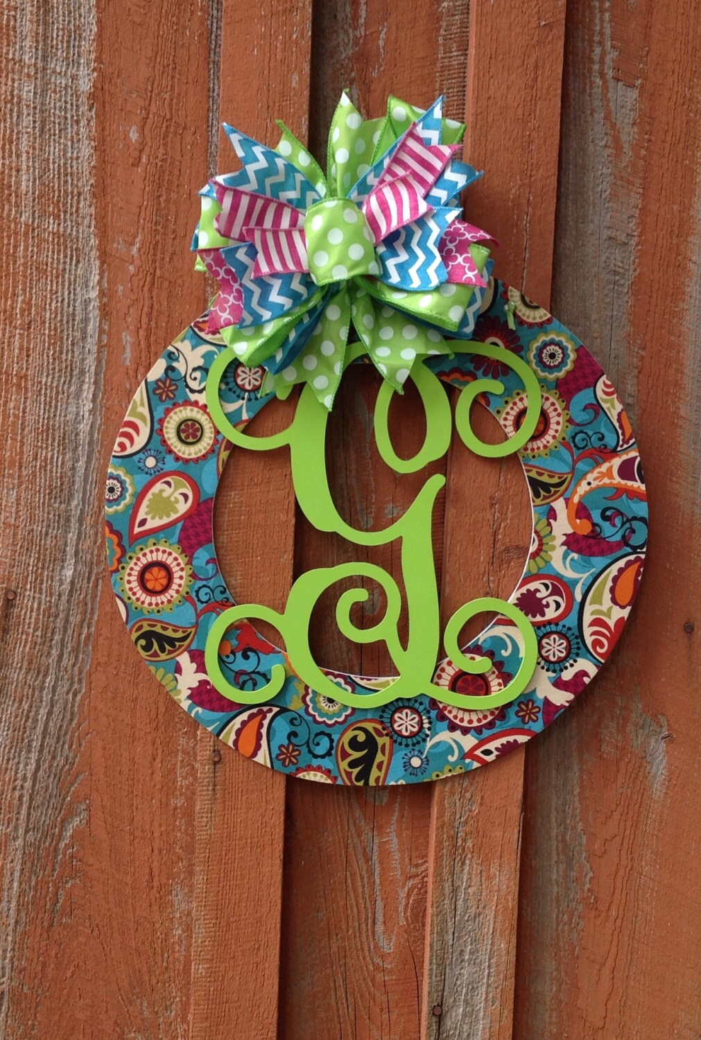 Best Spring Personalized Door Wreath Wood Wreath Home Decor Wedding This Month