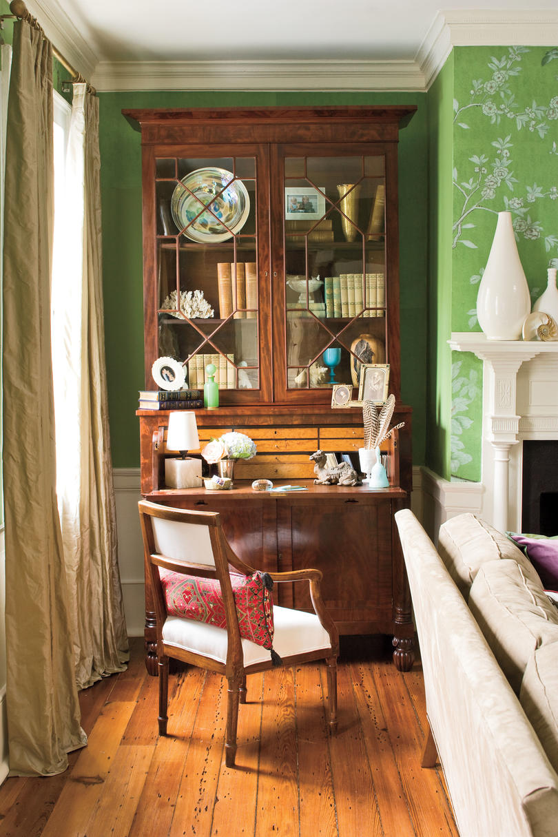 Best Charleston Home Living Room Southern Living This Month