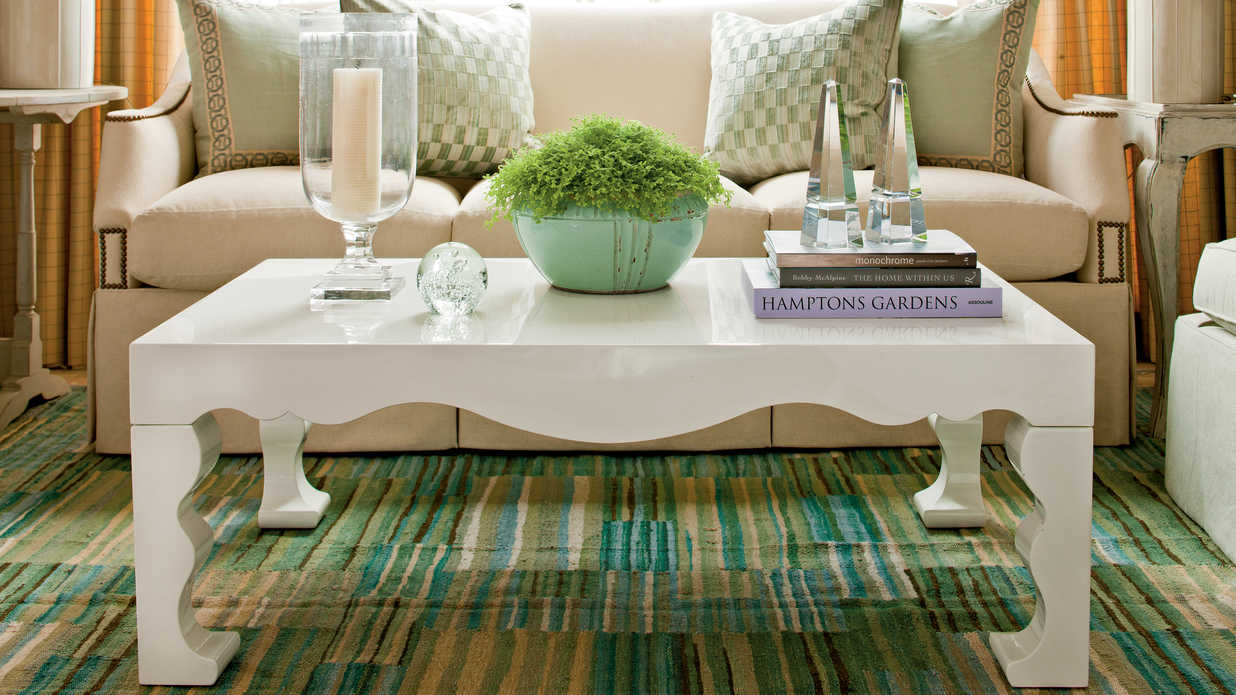 Best How To Decorate A Coffee Table Southern Living This Month