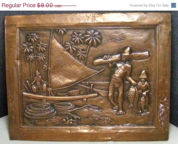Best Spring Sale Sale Vintage Copper Wall Decor Ludovico Brasil This Month
