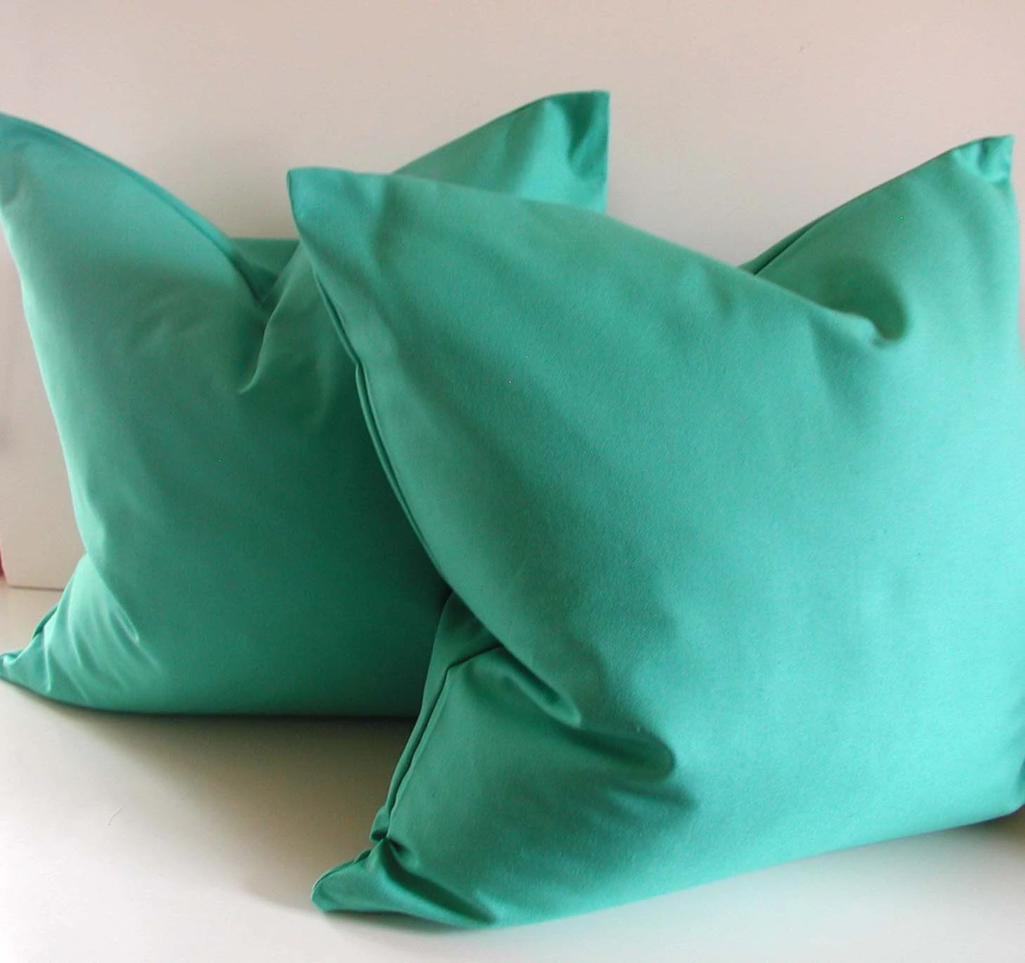 Best Set Of Two Turquoise Pillows 20 Inch Decorative Pillow This Month