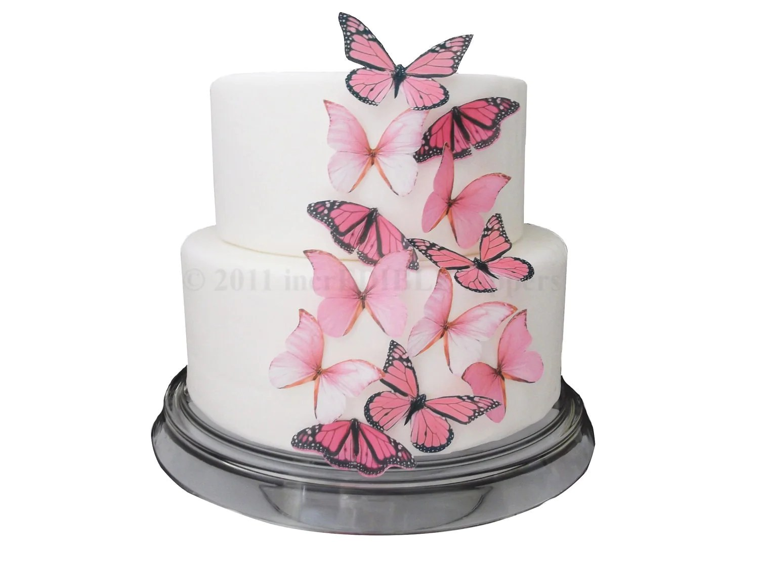 Best Cake Decorations Edible Butterflies 12 Large By This Month