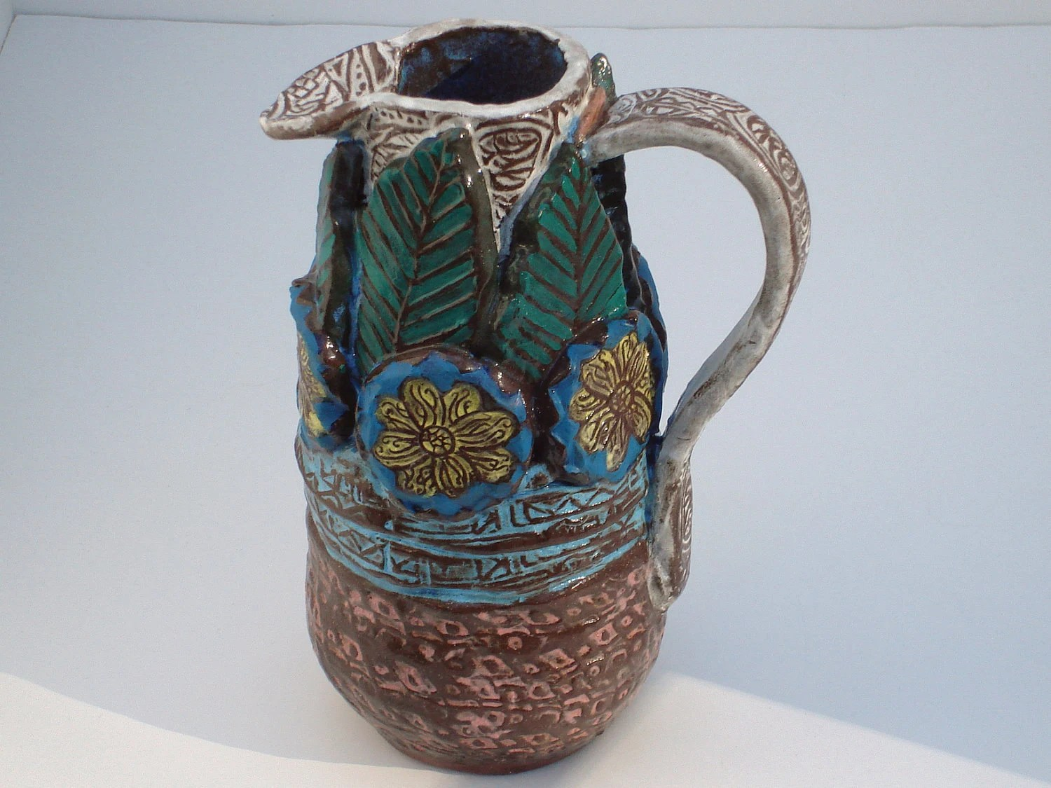 Best Items Similar To Decorative Ceramic Pottery Pitcher Hand This Month
