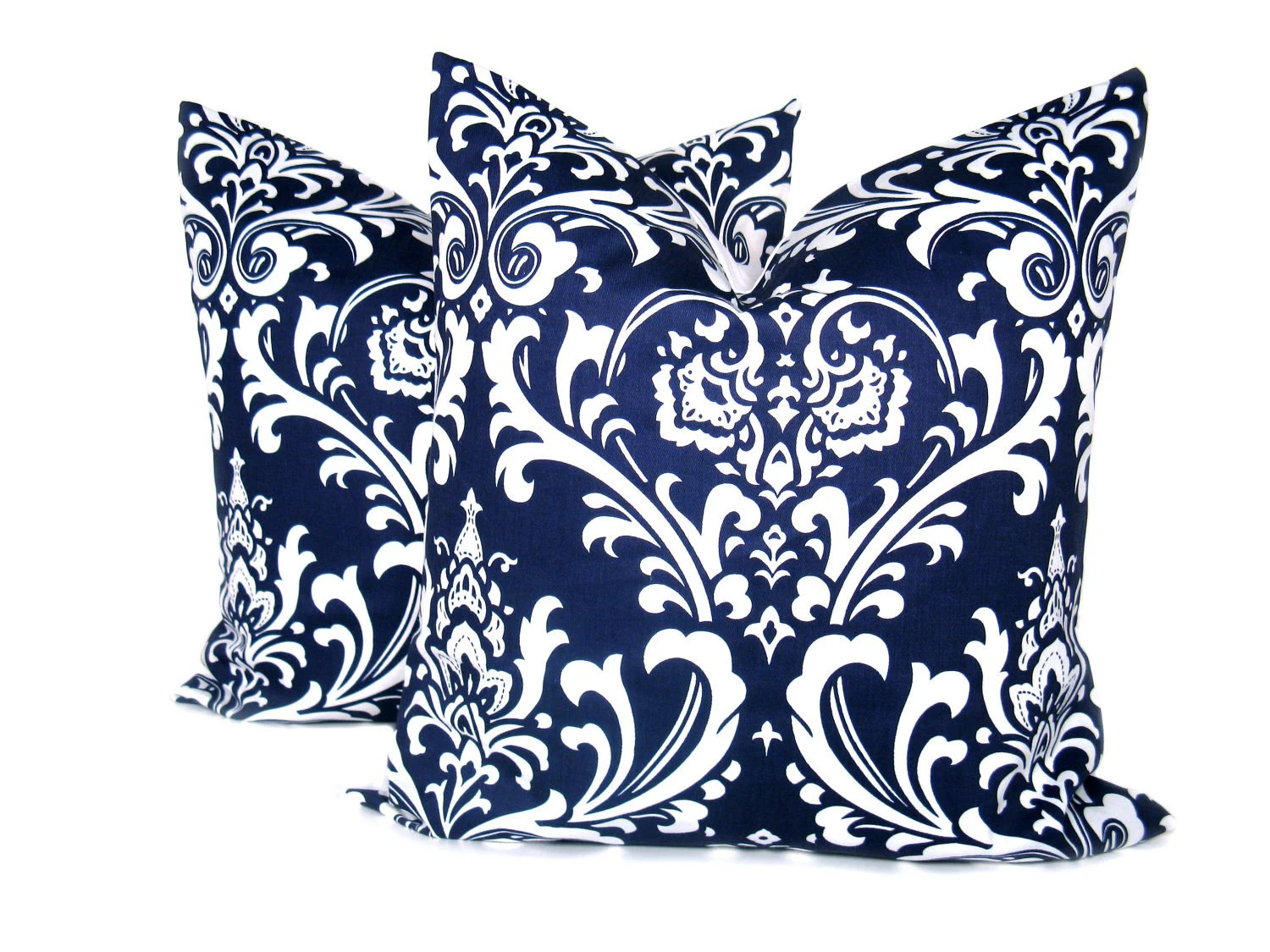 Best Blue Pillow 20 X 20 Pillow Cover Set Of Two Navy Blue Pillow This Month