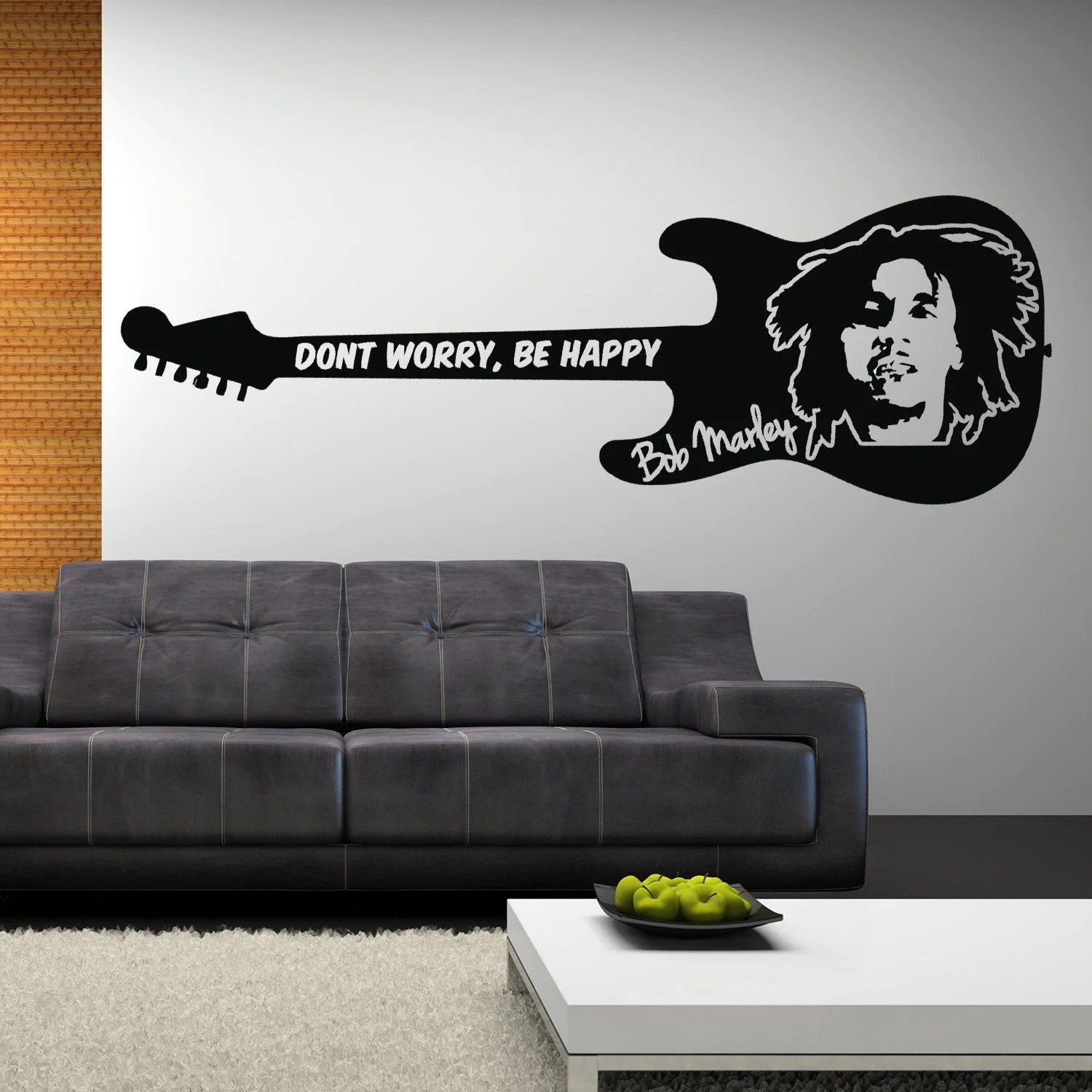 Best Items Similar To Bob Marley Wall Sticker Don T Worry Be This Month