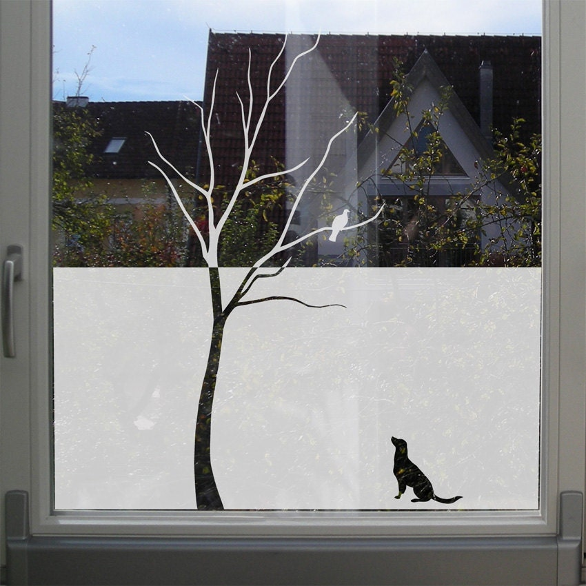 Best Decorative Tree Window Film Etched Glass Window Decal Tree This Month