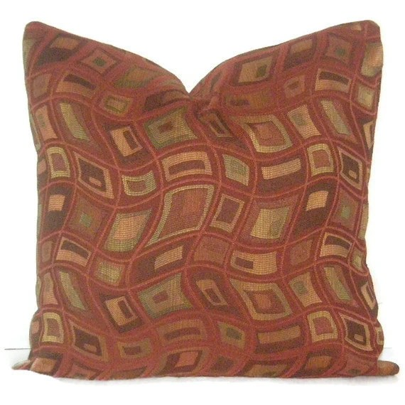 Best Decorative Pillow Cover 20 X 20 Burnt Orange Throw This Month