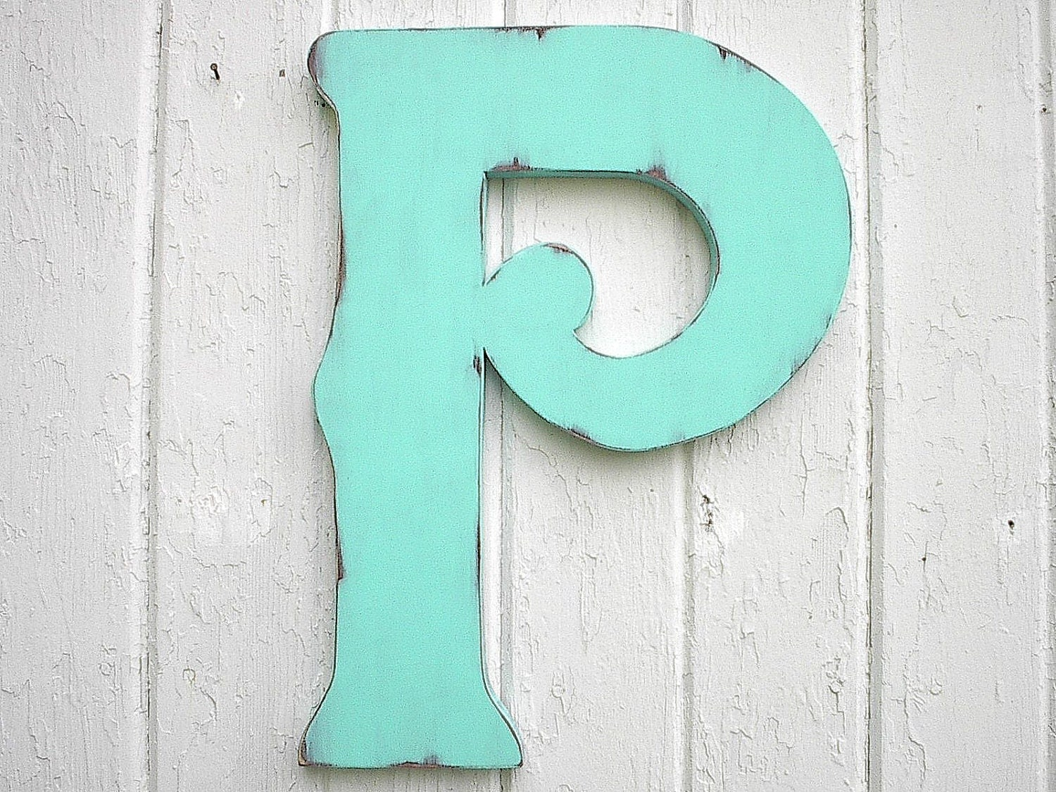 Best Wooden Letters Decorative P 18 Wall Decor Distressed This Month
