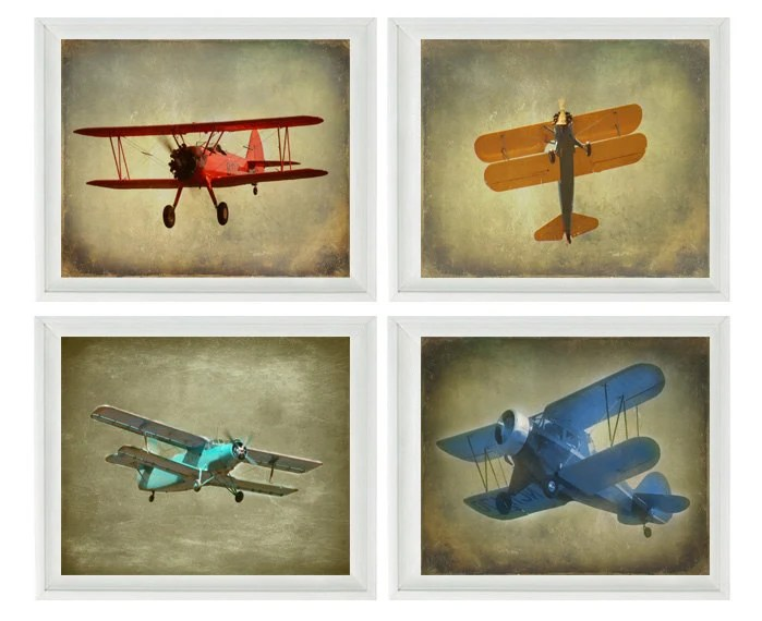 Best Vintage Airplane Photography Biplane Photo Airplane Nursery This Month