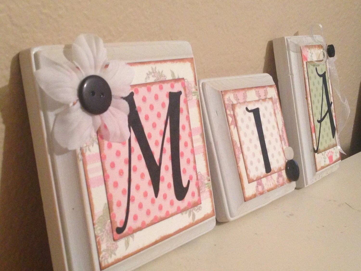 Best Nursery Wall Letters Personalized Custom Baby Name Letters This Month