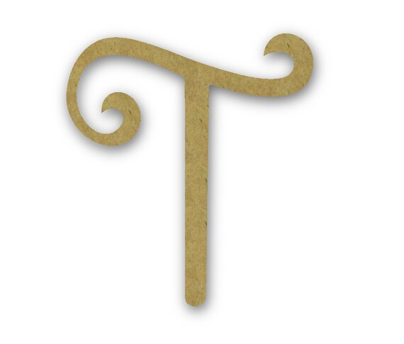 Best Large Wooden Letters T Unfinished Unpainted Decorative By This Month