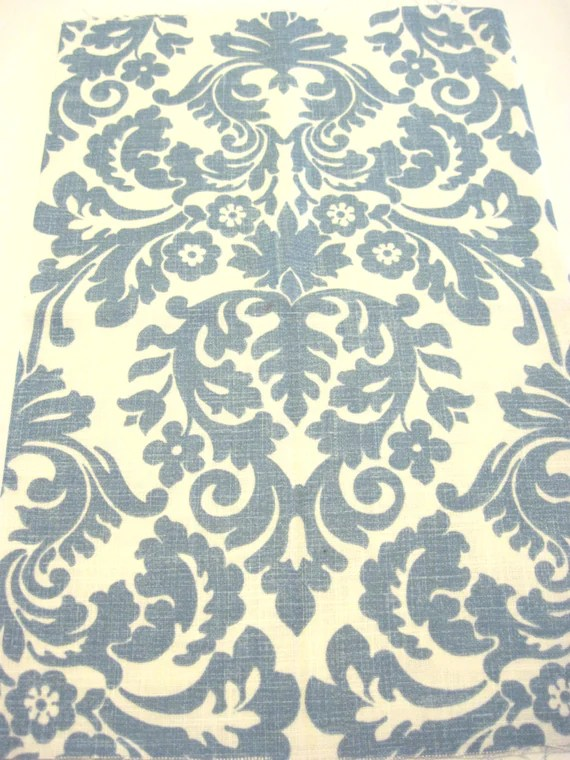 Best Blue And White Home Decor Fabric By Poetcharms On Etsy This Month