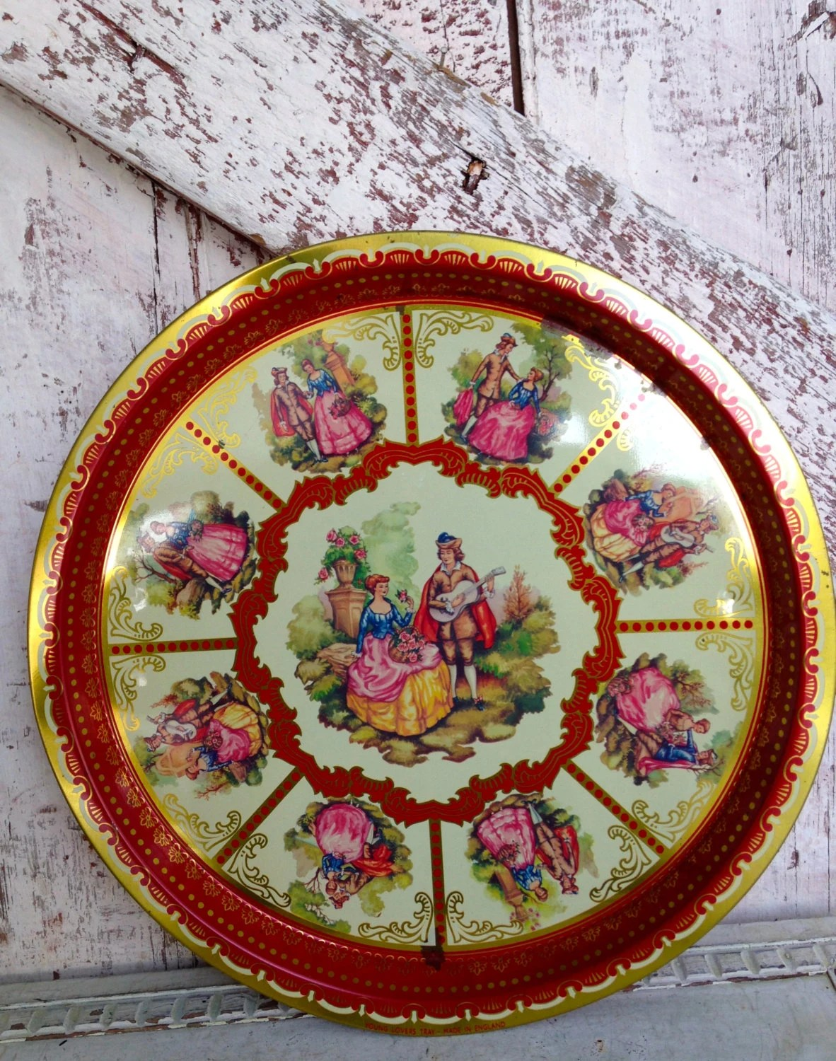 Best Tin Tray Decorative Plate Wall Hanging Made In England Elite This Month