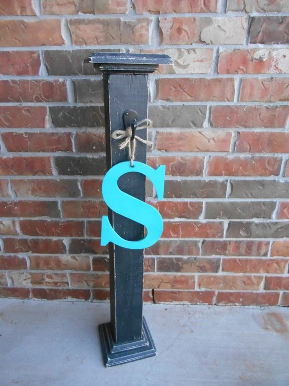 Best Welcome Post Front Porch Porch Decor Entrance Post This Month