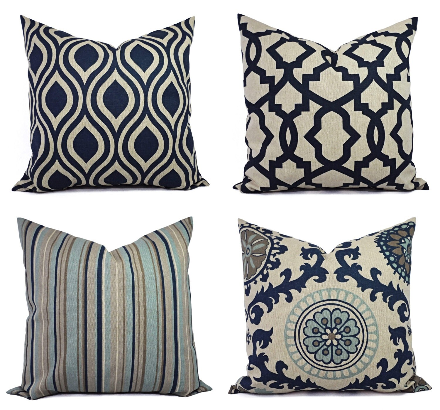 Best Decorative Pillow Blue And Beige Decorative Pillow Blue This Month