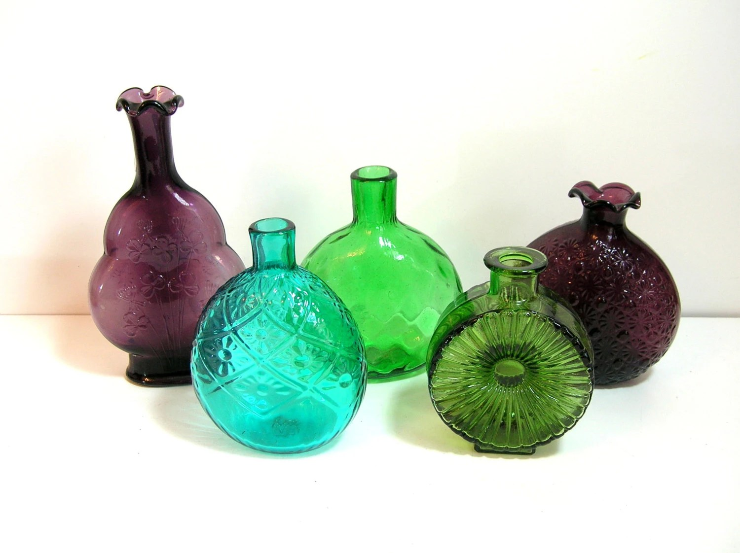 Best Decorative Colored Glass Bottle Collection This Month