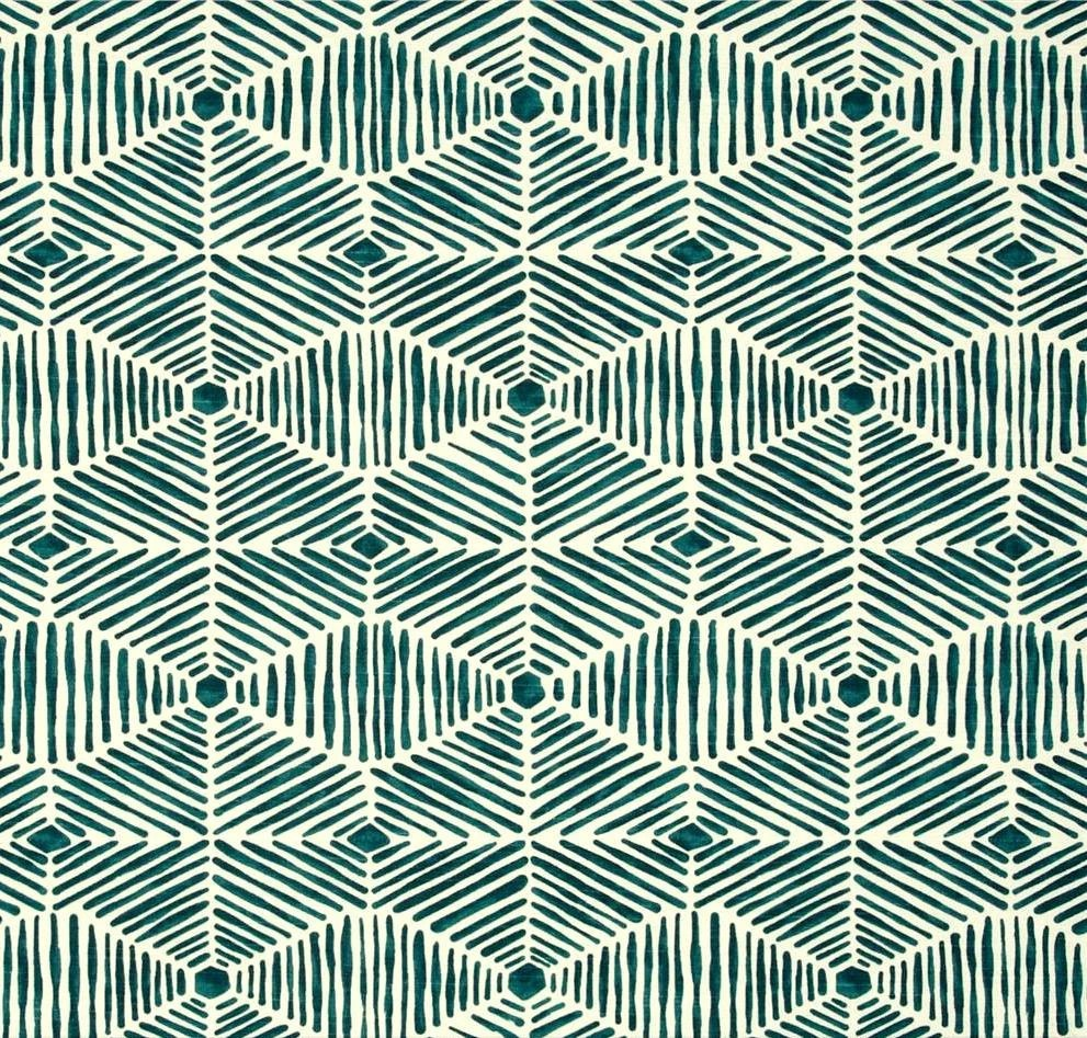 Best Fabric Teal Blue Green Tribal Home Decor Fabric By By This Month