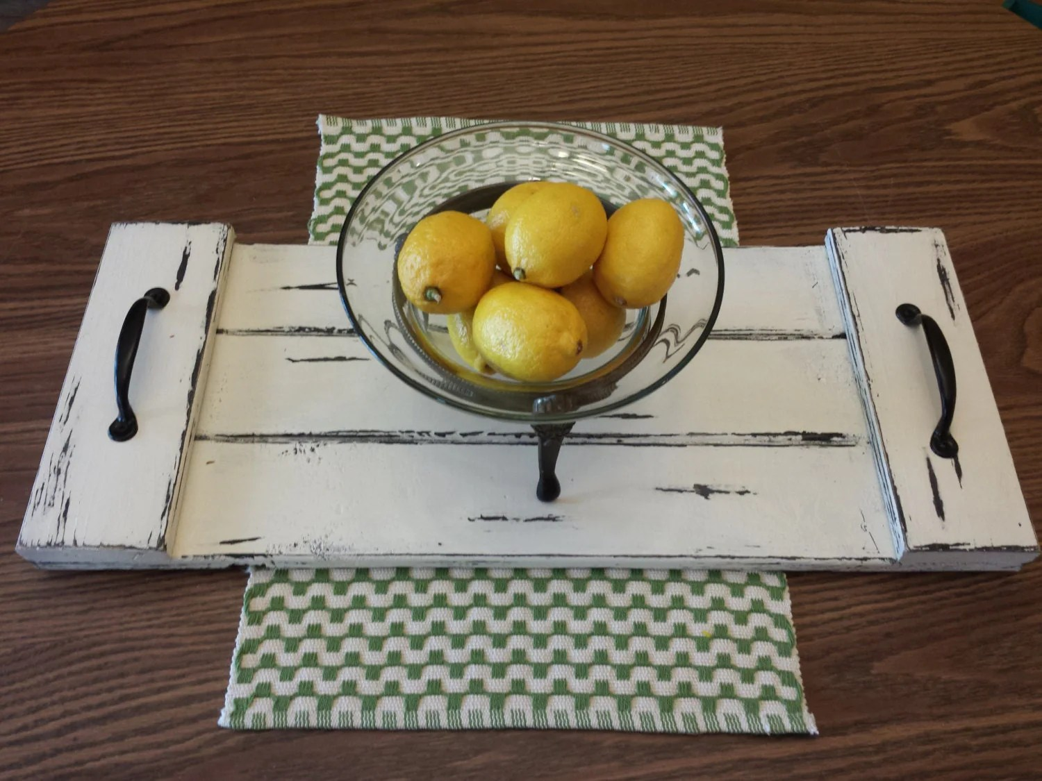 Best Rustic Coffee Table Tray Decorative Farmhouse By This Month