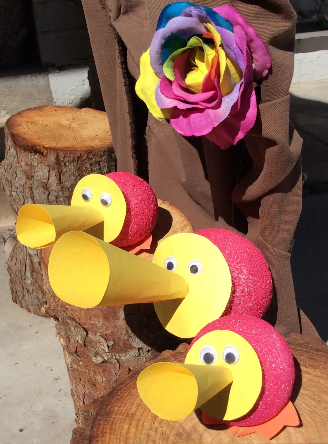 Best Alice In Wonderland Party Decorations Trio Of Horn Ducks This Month
