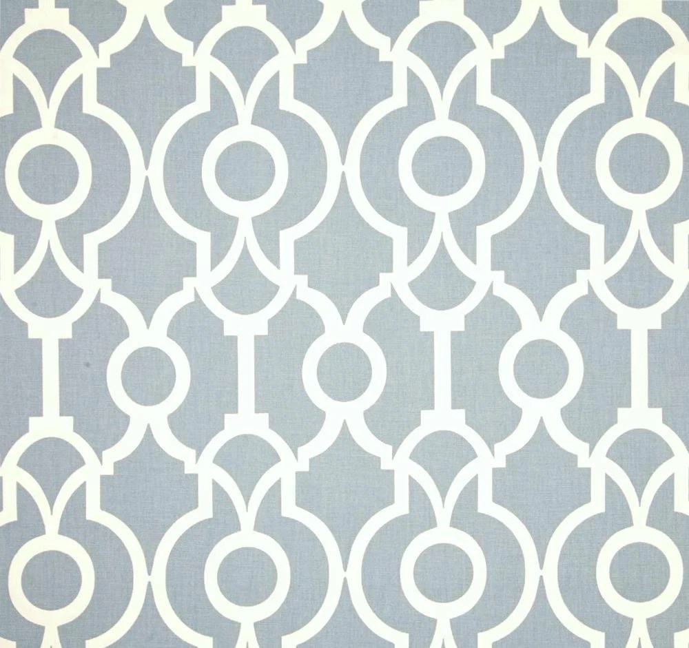 Best Designer Drapery Fabric Chambray Blue By The Yard By This Month