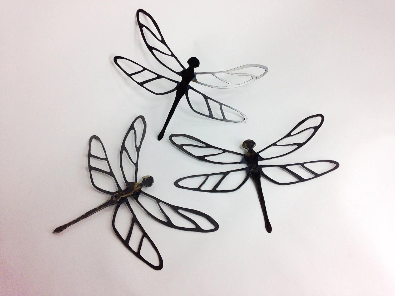 Best Metal Dragonfly Wall Hanging Art One Dragonfly By Ironmaidart This Month