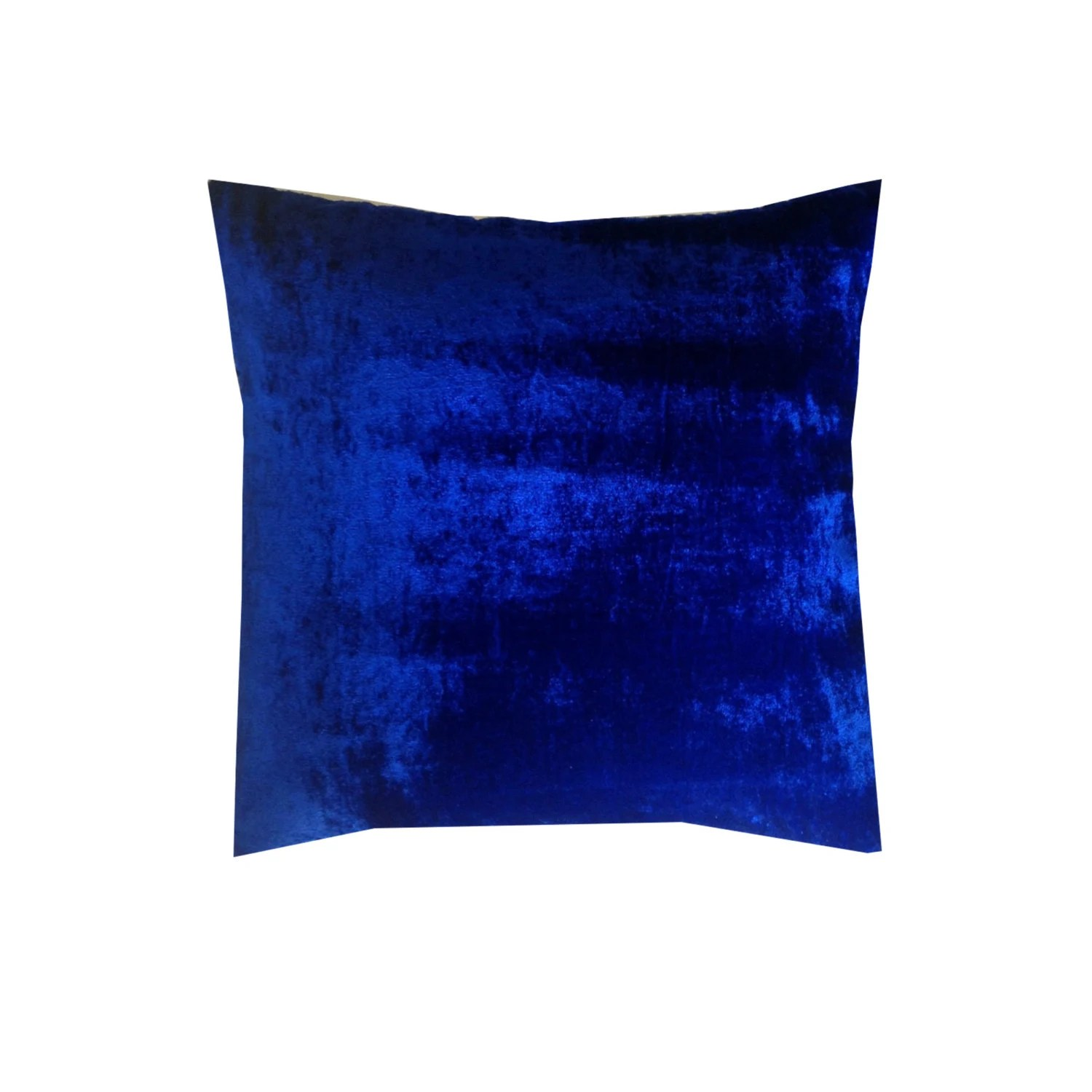 Best Blue Velvet Pillows Blue Decorative Pillows Velvet Sofa This Month