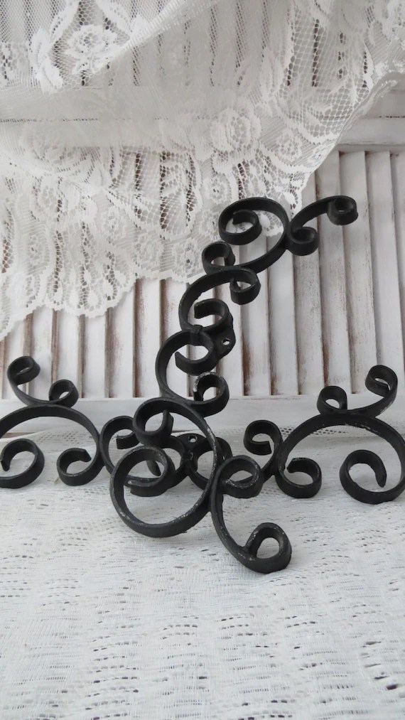 Best Black Iron Scroll Wall Decor Project Set Of 2 This Month
