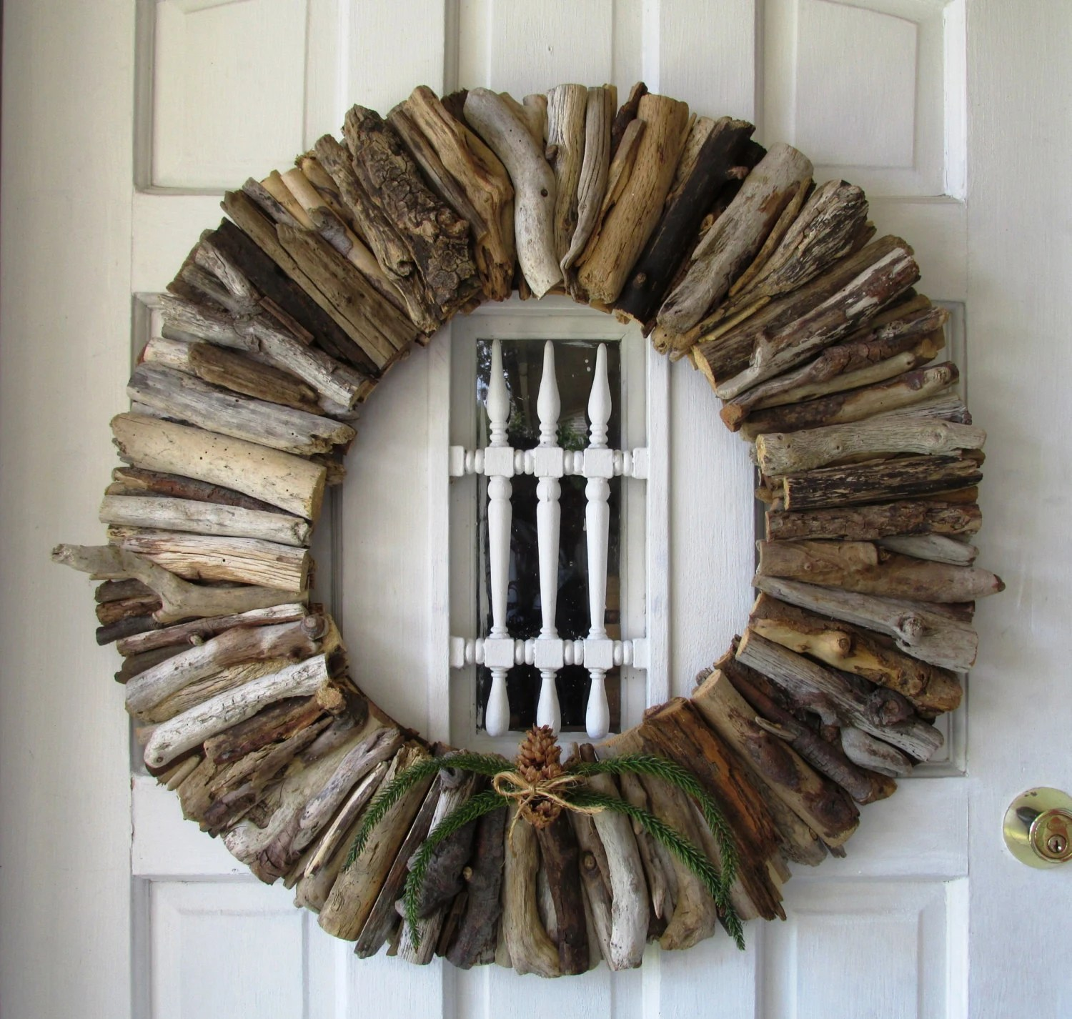 Best Large Driftwood Wreath Rustic Home Decor Beach Home Decor This Month