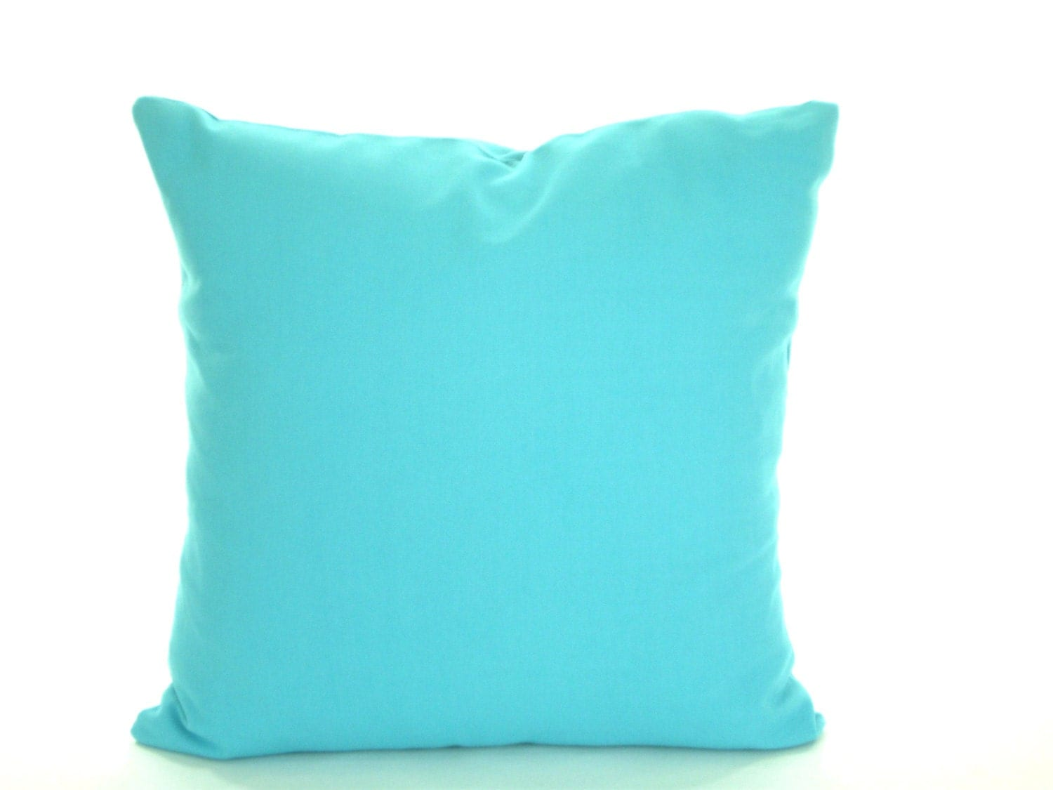 Best Solid Aqua Blue Pillow Cover Decorative Throw Pillow This Month