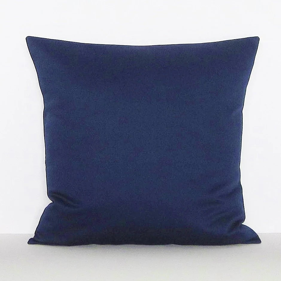 Best Navy Blue Pillow Cover Decorative Throw Accent Toss Pillow This Month