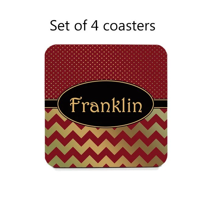 Best Personalized Drink Coasters Coaster Set Set Of 4 Custom This Month